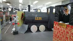 Office decorations Polar Express #polarexpress #officedecorations