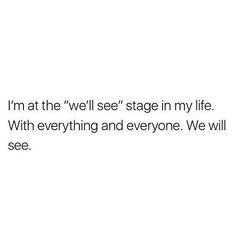 We'll see