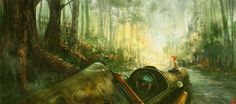FoRest_2d_sci_fi_spaceship_forest_picture_image_digital_art