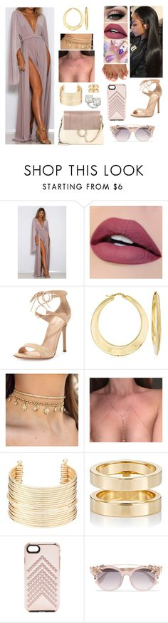 """Croatia"" by divinemaboundou ❤ liked on Polyvore featuring Tiger Mist, Gianvito Rossi, Ross-Simons, Charlotte Russe, Repossi, Rebecca Minkoff, Jimmy Choo and Chloé"