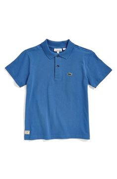 Lacoste+Solid+Jersey+Polo+(Big+Boys)+available+at+#Nordstrom