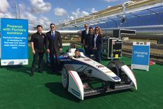 Fórmula E recarrega carros com energia solar na da etapa de Miami