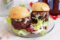 Cabernet and Gorgonzola Burger Sliders | Easy Delicious Recipes: Rasa Malaysia
