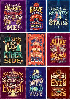 The Greatest Showman Lyric Posters designed by Risa Rodil. the global community for designers and creative professionals. The Greatest Showman, Circus Birthday, Circus Party, 7th Birthday, Song Quotes, Movie Quotes, Pixar Quotes, Lila Party, Talent Show