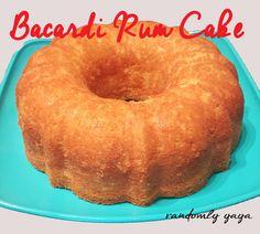 Bacardi Rum Cake http://randomlyyaya.com/bacardi-rum-cake/ #BestCakeEver #RumCake #bacardi