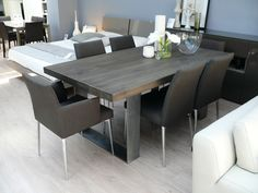 Grey Dining Room Table Sets Luxury New Arrival Modena Wood Dining Table In Grey Wash Wooden Dining Room Table, Brown Dining Table, Grey Dining Tables, Modern Dining Room, Contemporary Dining Table, Wood Dining Table, Grey Kitchen Table, Kitchen Table Wood, Wood Dinner Table