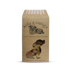Gourmet Peanut Butter & Banana - Grain Free Dog Treats by Alfie & Molly's Dog Bakery!