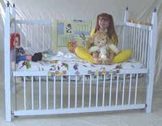 Adult Baby Furniture - Deluxe Baby Crib