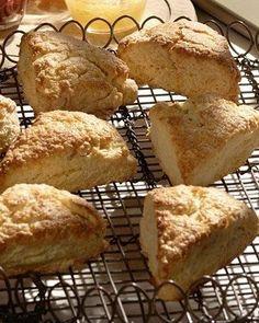 Lemon Cream Scones Recipe.