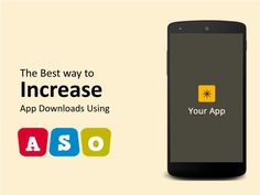Increase Application Download Using APO - App Store optimization or app page optimization or ASO or APO is nothing but the SEO of the page where an app is hosted or showcased. This is best way to marketing your App and optimize your app in app store.
