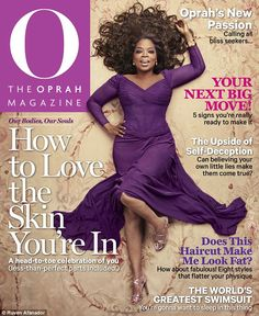 Oprah on the cover of O magazine