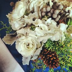 Bridesmaid bouquet for a wedding at the Grand Hall at Copper Station.  Copper Mountain, Colorado.