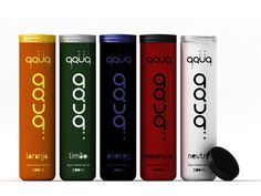 Packaging of the World: Creative Package Design Archive and Gallery: AQUA (Concept)