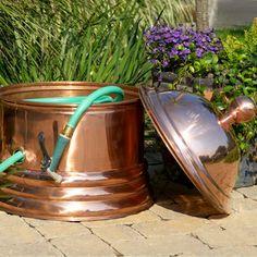 ... Copper Hose Pot - eclectic - outdoor decor - atlanta - by Iron Accents