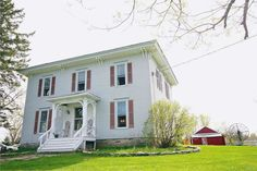 2 Story,Farmhouse,Historic,Old Style, Cross Property - Gouverneur, NY PEACE IN THE COUNTRY!Offering over 18 acres of peace and relaxtion.This 5 bdrm 2 full bath farmhouse has so much to offer.Original beautiful plank wood flooring through out, large lvrm,formal dnrm and first floor master with master bath.Inviting country kitchen fully applianced with statinlesss steel and walk in pantry.Second story has 4 large bdrms and full bath.A new wood furnace,newer windows and full dry basement.A…