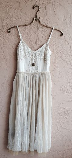 Image of Free People Sequin and tulle holiday dress