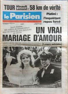 PARISIEN (LE) N 13019 DU 24 07 1986 - FERGIE & ANDREW