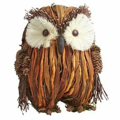 Natural Standing Owl