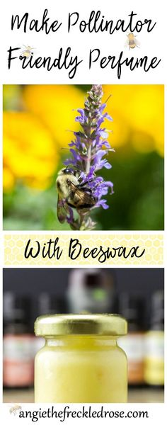 If you love to garden, you know how important pollinators are! Bees provide us with both delicious honey and beneficial beeswax. Beeswax is the perfect natural ingredient to add to cosmetics, healing balms, and other helpful household items. Making solid perfume with a creamy texture is very simple and easy. Recipe from The Beeswax Workshop by Chris Dalziel of @joybileefarm