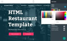 Mobirise Restaurant Website Template Maker v4.5.2 - Restaurant Website Template!  View the demo: https://mobirise.com/bootstrap-template/restaurant-template/  Simple, easy and free Bootstrap restaurant template based on the Mobirise 4 Theme is a super means to build a small attractive page for every business.