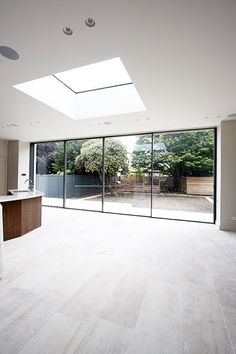 Super Ideas For Bifold Door Garden Roof Light Open Plan Kitchen Diner, Open Plan Kitchen Living Room, Large Open Plan Kitchens, Roof Design, House Design, House Extension Design, Roof Lantern, Roof Light, Piece A Vivre