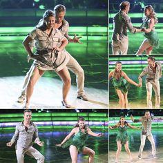"Derek Hough & Bindi Irwin   ""TeamCrikey""  -  Dancing With the Stars  -  season 21  - week 1  -  fall 2015"
