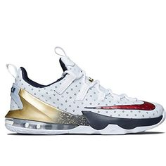 (ナイキ) NIKE e Men's Nike LeBron 13 Low Basketball Shoes メン…