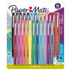Too Cool For School, Back To School, Middle School, High School, Felt Tip Markers, Cool School Supplies, Cute Pens, Stabilo Boss, Craft Ideas
