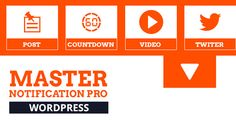 Master Notification Pro v1.0.0 – Responsive Notification Bar Plugin for WordPress
