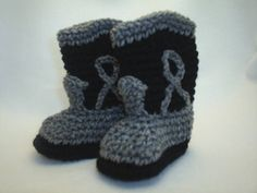 Cowboy Boot Booties by BestDressedBaby on Etsy, $12.00