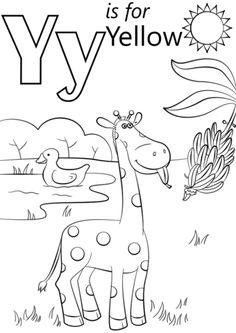 50 Best Letter Y Crafts images in 2019 | Preschool alphabet
