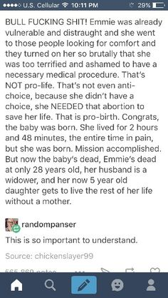 Part 11  [Pinned  from Big Sister -  Pro  Choice;  4/5-3-2017;  have  left  Comments  relating my family's  own story,  which  only had a better outcome  because  we live in the  UK,  otherwise  my sister & I  would  have grown up without  a  mum,  too..]