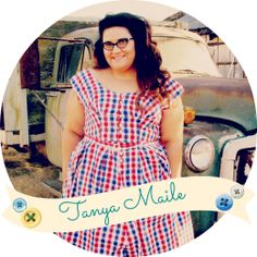 Mrs. Hughes - Retro Sewing & DIY Projects: I'm Tanya, a California ranch gal who loves vintage sewing, DIYing, repurposing junk, Border Collies, Boston Terriers, sports, craft beers, cheese and many other mundanely fabulous things!