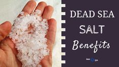 Find out EXACTLY what health benefits do Dead Sea salts & minerals have for your skin... and most importantly - should you try using it or not?