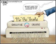 executive order political cartoon - Google Search