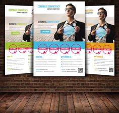 Business Flyer Template by Leza on Creative Market
