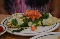 Chicken Fajita omelette, @ iHop, Las Vegas