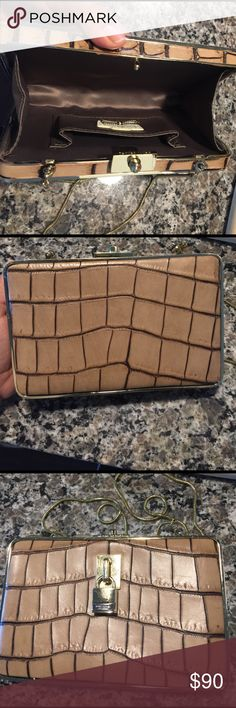 Henri bendel clutch! More photos! Brand new! Barely used:) Bags Clutches & Wristlets