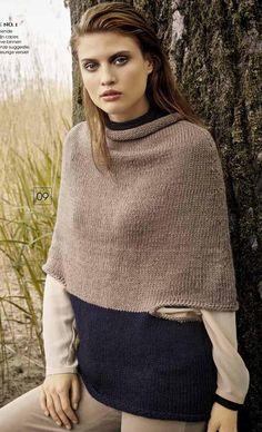 8ea76ab02ab0  ClippedOnIssuu from Lana Grossa FILATI CLASSICI Uitgave 11 (NL) Knitted  Poncho, Poncho