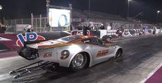 Fastest Pro Mod (5.736 at 249.49 mph): Sheikh Khalid bin Hamad al-Thani's Jerry Bickel Race Cars-built C7 Corvette