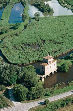 Torre Abate, Delta del Po, Emilia-Romagna, Italia