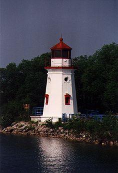 Cheboygan Crib Lighthouse, Lake Huron, Michigan