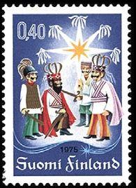 Joulupostimerkki 1975 - Tiernapojat FDCt Christmas stamp 1975 Finland Christmas Nativity, Christmas Time, Good Old Times, Postage Stamps, Nostalgia, Animation, Prints, Seals, Postcards
