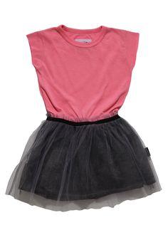 2ae929078 Nununu Magic Dress in Pink Frill Dress, Pink Dress, Peplum, Organic Baby  Clothes