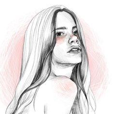 #illustration #illust #fashion #design #style #draw #drawing #sketch #sketchbook #instaart #art #artwork #portrait #instadaily #digitalart…
