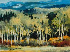 David Langevin, 'Oct. Oils Study II', 6'' x 8'' | Galerie d'art - Au P'tit Bonheur - Art Gallery Canadian Painters, Canadian Artists, Impressionism Art, Impressionist, Awesome Art, Cool Art, Nature Sauvage, Portraits, Colorful Artwork