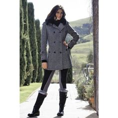 Goode Rider Ladies Pea Coat