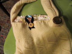 camillecreates: A Proper Sweater Bag Tutorial and A-Give-Away
