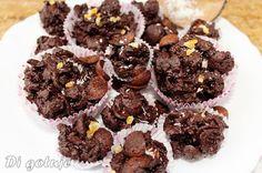 Di gotuje: Pralinki/trufle mocno czekoladowe z płatków śniada...