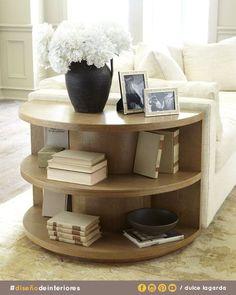 """Una idea de """"centro de mesa"""" pero a diferencia de los otros este aprovecha el grosor del sofá. #dulcelagarda #diseñodeinteriores #ensenada"""